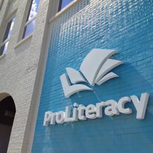 ProLiteracy sign